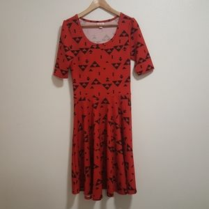 Red Nicole LLR dress Lularoe